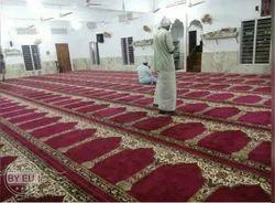 Jute Marron Mosque Carpet, For Floor, Size: 4*100