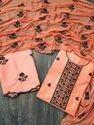 Jam Cotton Unstitch Embroidery Suit
