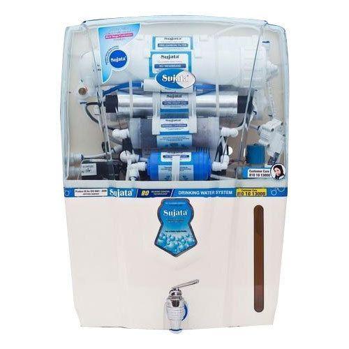 97ba047739 ABS Plastic Sujata Max RO UV UF Water Purifier, Capacity: 10-15 L ...