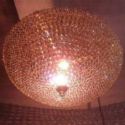 Contemporary Crystal Chandelier, Shape: Round