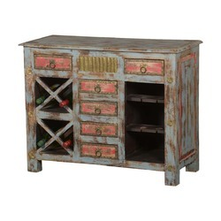Buffet Cabinet With Wine Rack