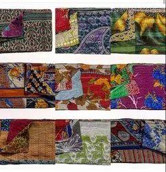 Multi Design Vintage Kantha Quilt