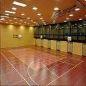Vinyl Sports Flooring Service, Thickness: 1 - 12 Mm