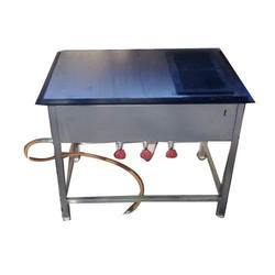 Stainless Steel Chapati Puffer, For Commercial