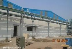 Structural Work For Industrial Shed