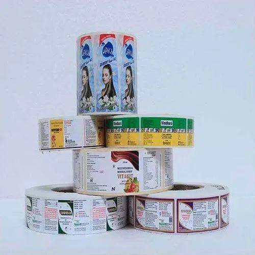 Self Adhesive Wrap Around Labels