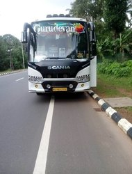 34 Scania Tourist Bus Service, Kozhikode, Calicut, Seating Capacity: > 45 Seater