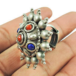 Hot Antique Design Handmade 925 Silver Ring