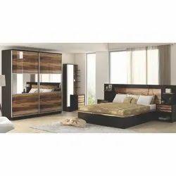 Hutaib Furniture Designer Wooden Bed Room Set