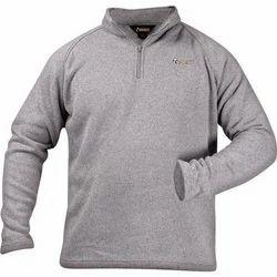 Full Sleeves Grey Men's Pullover Sweater