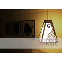 Led Designer Hanging Wood Lamp