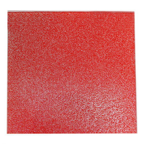 Red Sparkle Lacque Glass