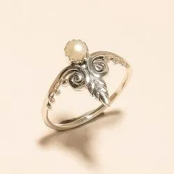 Sterling Silver Natural Indonesian Pearl Ring 925