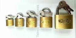 Brass Padlocks, Packaging Size: <10 Piece