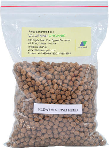 Organic Valueman Aqua Fish Feed Floating Pellet 1.2 Mm To 2 Mm 3mm, Packaging Type: Hdpe Bag