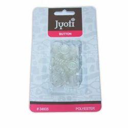 Jyoti Button - Transparent