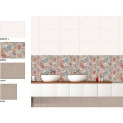 Ceramic Gloss Printed Wall Tiles, Size: 300X600 mm, Thickness: 5-10 mm