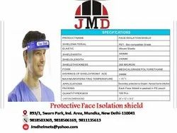 PET Free Safety Face Shield for Face Protection