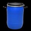 Blue Hdpe 60 Liter Plastic Open Top Drums