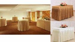 Kinkob Hotel Table Skirting, Size: 10 * 20 Feet