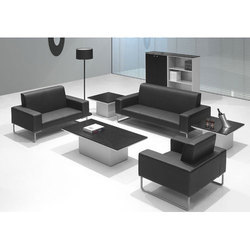 Black Office Sofa Set