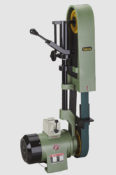 Single Ended Abrasive Belt Grinder