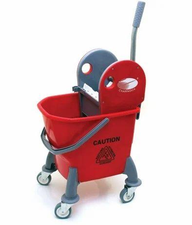 Single Mop Bucket Trolley