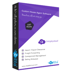 Custom house agent software