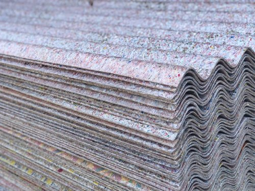 Multicolor Recycled Plastic Corrugated