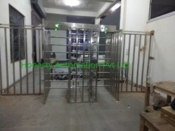 Dual Lane Full Height Turnstile