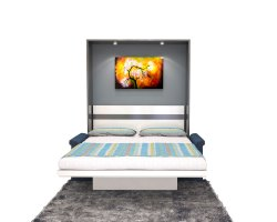 Wooden Oliver A - Ace Wall Beds with Sofa for Residential