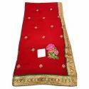 Traditional Chiffon Saree