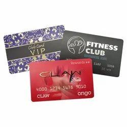 Silver & Gold Foil PVC Membership Card