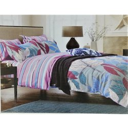 Cotton Floral Print Bed Sheets
