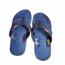 Sparx Mens Blue Fancy Slipper, Packaging Type: Box, Size: 5-10 Number