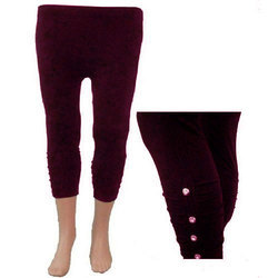 Ladies Capri Leggings, Size: Free Size