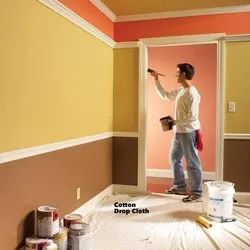 Smooth Acrylic Building Wall Paintings, For Home Decor