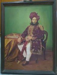 Maharaja Rajasthani Royal Painting