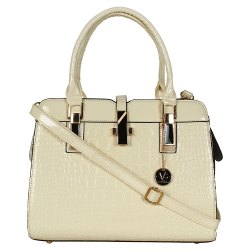 PU Plain Women Shoulder Purse