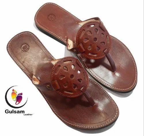 Female Brown Gulsam Women Leather