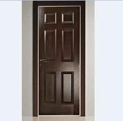 Laminated 6 Panel Wooden Door, For Home