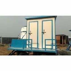 4 Seater Mobile Toilet