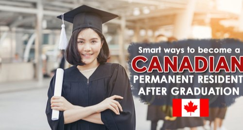 Kết quả hình ảnh cho how to immigrate Canada after graduate