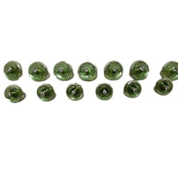 Green Plastic Traditional sherwani button, For Garments, Packaging Type: Box