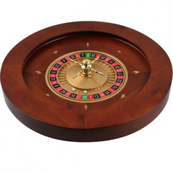 Casino Grade Deluxe Wooden Roulette Wheel