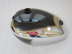New Matchless AJS Twin G9 G12 Black Painted Chrome Petrol Tank
