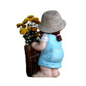 Cute Small Girl Planter