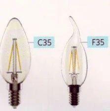 Filament Candle Bulb