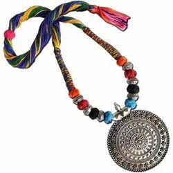 Oxidized Silver Ladies Oxidized Necklace