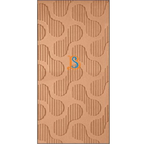 Brown Rectangular MDF Wave Boards, Thickness: 1 - 4 mm